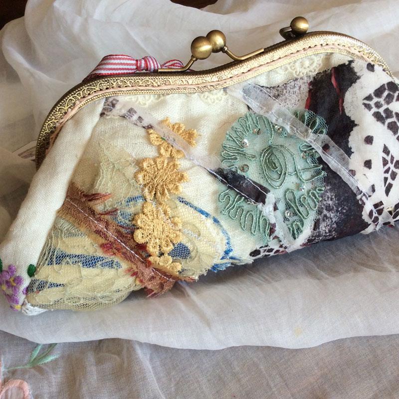 Mixed Lace Bag
