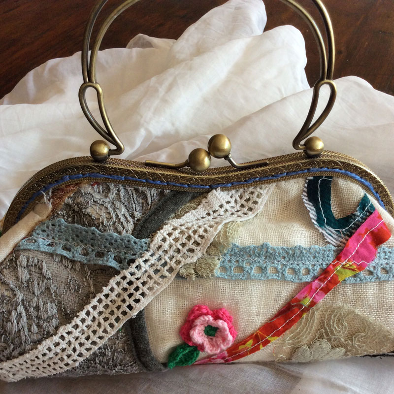 Rose Evening Bag